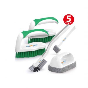 Holikme Deep Cleaning Brush Set - 5 pack (Green)