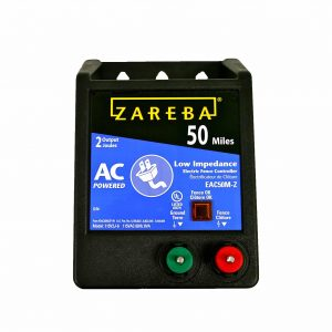 Zareba 50 Miles Range AC Powered Fence Charger
