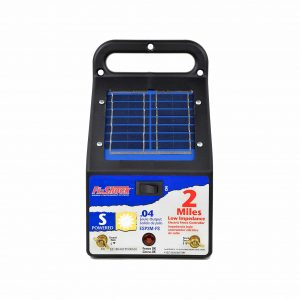 Fi-Shock 2-Mile Solar Powered Electric Fence Charger
