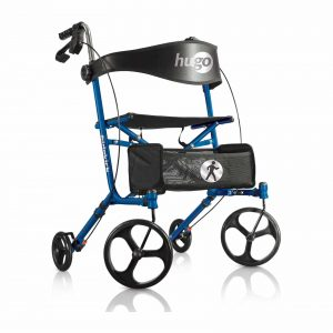 Hugo Mobility Sidekick Blueberry Side-Folding Walker
