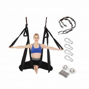 E ETERMTT Ceiling Hanging Yoga Swing