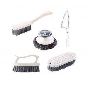 GIPTIME 5PCS Multipurpose Scrub Brush Set