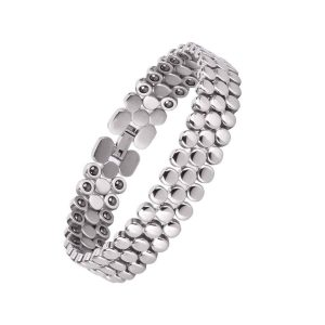 JEROOT Magnetic Bracelet Titanium Therapy Bracelet