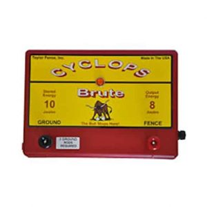 Cyclops Brute 8 Joule Fence Charger