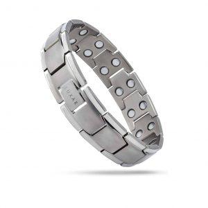 LUXAR Men's Titanium Magnetic Bracelet Double Magnetic Strength