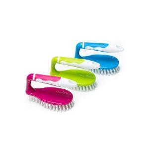 Klickpick Home Scrub Brush for Shower, Bathroom, Floor & Sink - 3 Pack