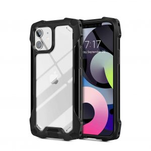YOOMAS iPhone 12 Case with Aluminum Bumpers