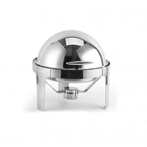 ChefQ 6QT Roll Top Chafing Dish with Water Food Pan