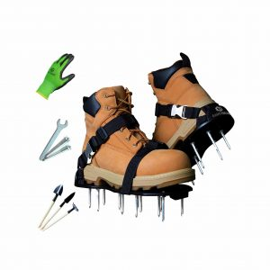 Earth Lawn Aerator Shoe 2.4 Inches Spikes