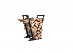 Qiang Ni Heavy-Duty Firewood Holder w: Kindling Holder