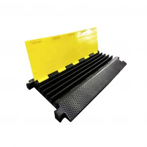 RELIANCER 5 Channel Rubber Cable Protector Ramp