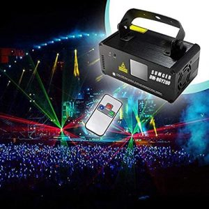 Sumger Professional LED Stage Laser Light with Remote