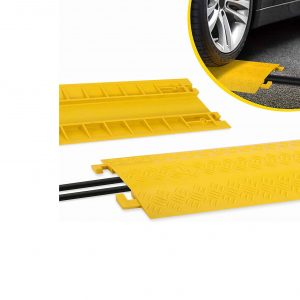 Pyle PCBLCO22 Durable Cable Protector Ramp