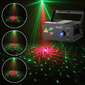 SUNY DJ Laser Lights SUNY Music 40 Patterns Stage Light