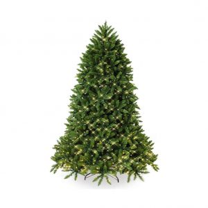HITASION Pre-Lit Artificial Christmas Tree 6FT