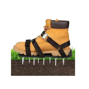 Kunyao Lawn Aerator Shoes 3 Adjustable Buckle Straps