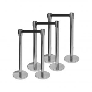 Brybelly Holdings, Inc. 3ft Control Stanchions 6 Pack