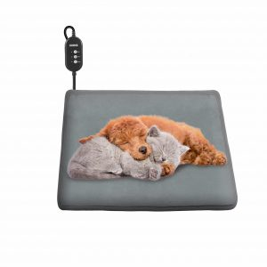OKMEE Upgraded Pet Heating Pad for Cats & Dogs