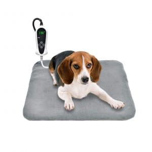 RIOGOO Upgraded Pet Heating Pad for Cats & Dogs