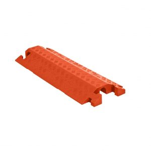 Linebacker CP1X125-GP-DO-O Polyurethane Cable Protector Ramp