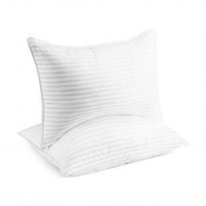 Beckham 2-Pack Queen Size Luxury Linens Gel Large Pillow