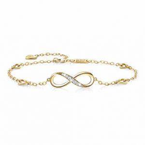 Billie Bijoux Women 925 Sterling Silver Foot Chain Anklet for Women