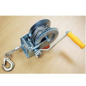 KCHEX Hand Boat Trailer Winch Steel Cable