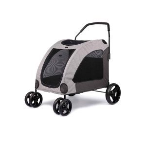 PBQWER Pet Gear Stroller for Multiple or Single Dogs Cats