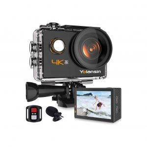 Yolansin 4K Action Camera with a 170° Wide Angle