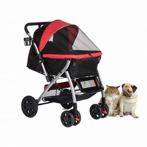 HPZ Pet Rover Premium Heavy-Duty Pet Gear Stroller