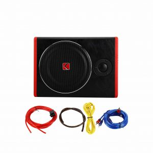 Pationer 8 Inches Car Under Seat Subwoofer