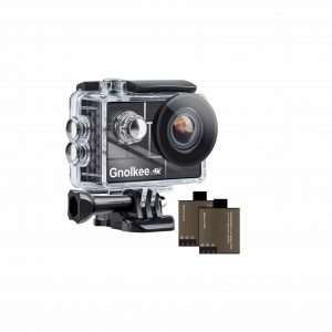 Gnolkee 4K WiFi Action Camera for YouTube and Vlogging Video