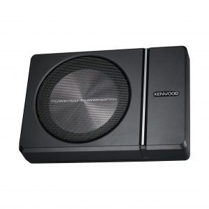 Kenwood 250W Single 8 Inches Subwoofer with Remote Control