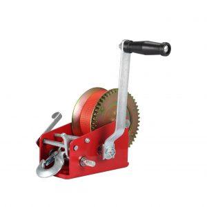 VZCY 3500LBS Load Capacity Nylon Strap Manual Crank Winch