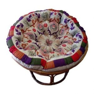 Cotton Craft Papasan Round Cushion
