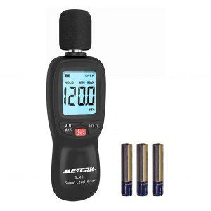 Decibel Meter, Meterk Digital Sound Level Meter