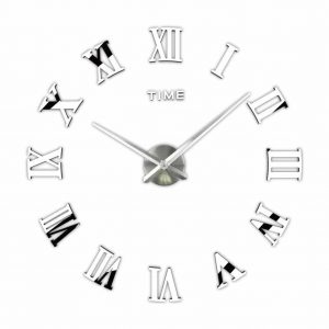 Timelike 3D DIY Wall Clock for Modern Decoration
