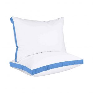 Utopia Bedding 2-Pack King Gusseted Large Pillow