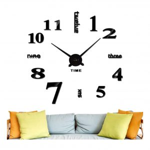 Lumuasky DIY Wall Clock for Modern Decoration