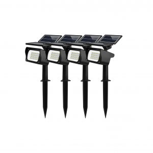 MEIKEE Warm and Cold White Outdoor Solar Lights