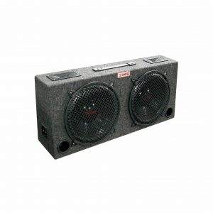 """XXX Kic Dual 12 Car Subwoofer with 5"""" Tweeters"""