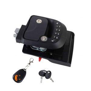 RUNMIND Entry Door Lock Latch Keyless Handle Knob