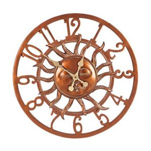 Cape Craftsmen Outdoor Clock for Modern Decoration