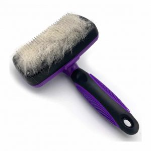 SoLID Self Cleaning Slicker Deshedding Tool for Dog