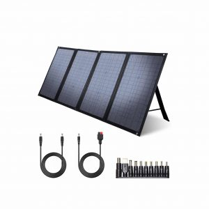 iClever 100W Foldable Solar Panel Charger