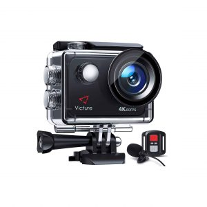 Victure 4K 60FPS Action Camera with Remote Control