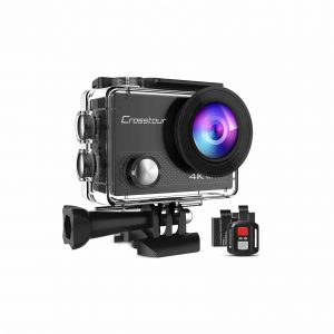 Crosstour Sports Action Camera with Remote Control
