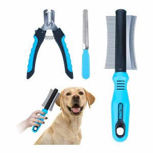 DELOMO Fur Deshedding Tool for Dog