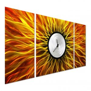 Pure Art Store Outdoor Clock for Modern Decoration