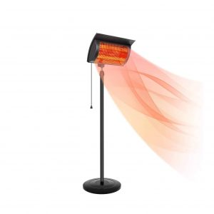 Simple Deluxe Standing Heater Patio1500W